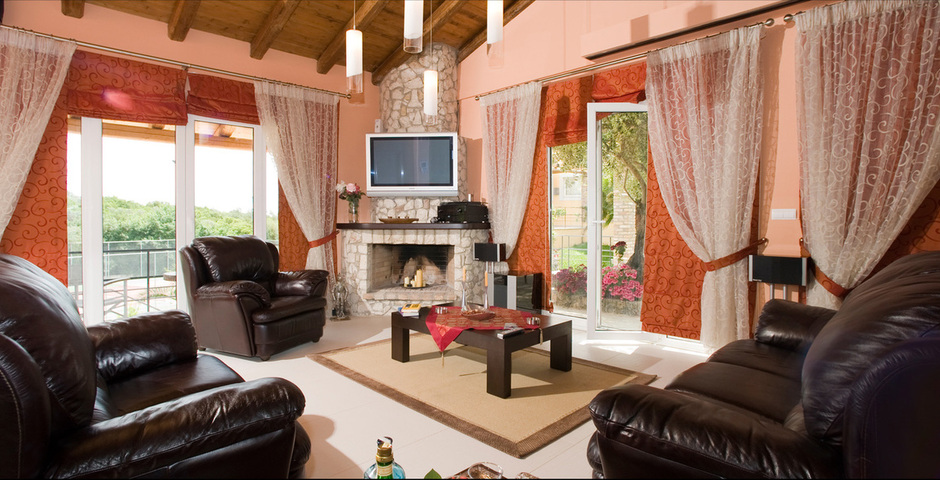 Show villa exclusive fire place2