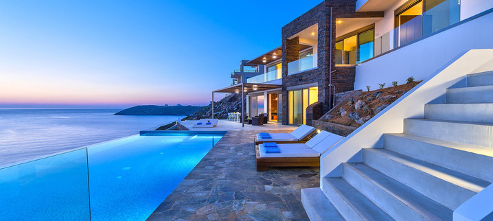 Results luxury villa crete outdoor dining 13