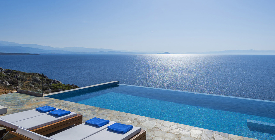 Image result for Images of villas with infinity pool