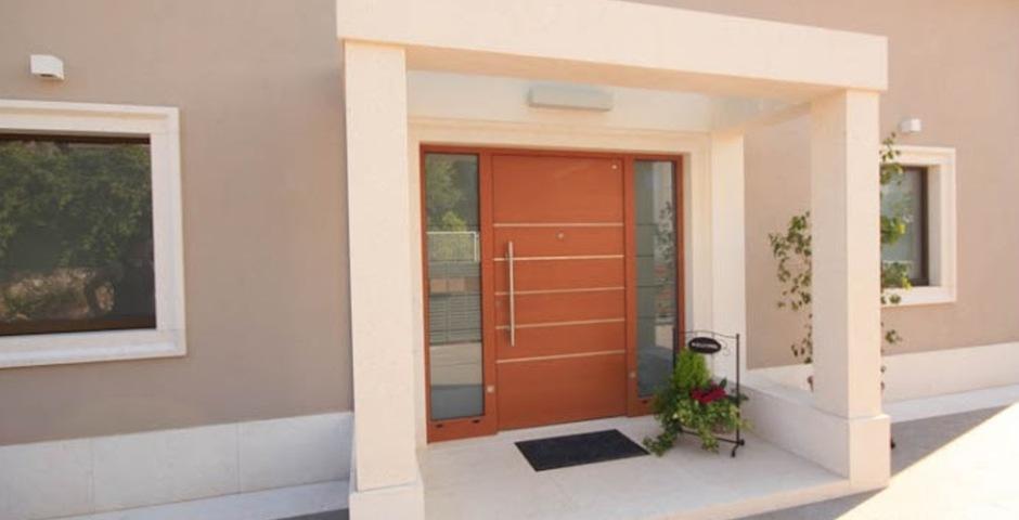 Show luxury villa trogir croatia entrance