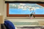 Thumb luxury villa trogir croatia attic bedroom seaview from bed