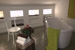 Thumb luxury villa trogir croatia attic stand alone bathtub
