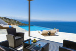 Thumb luxury villa crete seafront outdoor dining 1