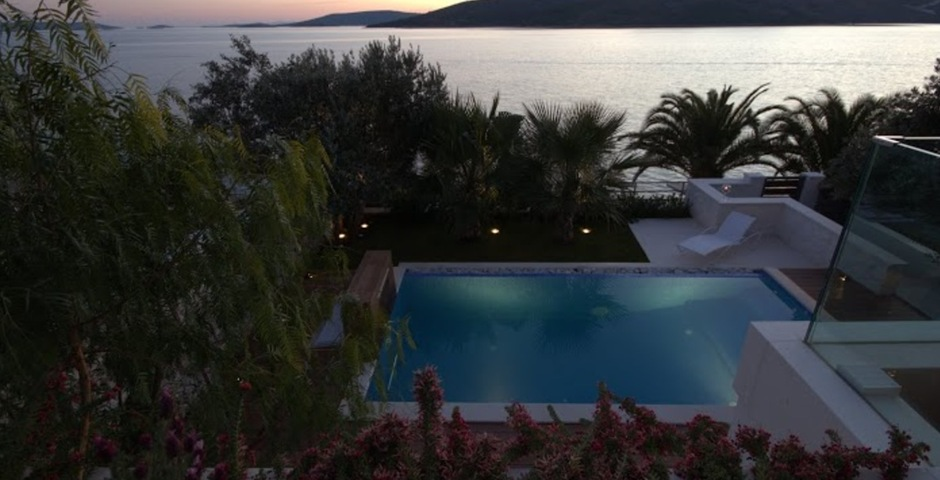 Show luxury villa trogir croatia seaview