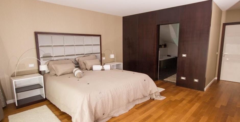 Show luxury villa trogir croatia masterbedroom