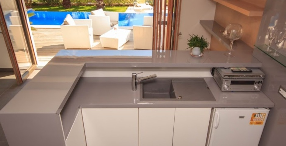 Show luxury villa trogir croatia kitchen view