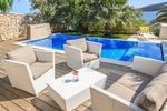 Thumb luxury villa trogir croatia outside swimmingpool area