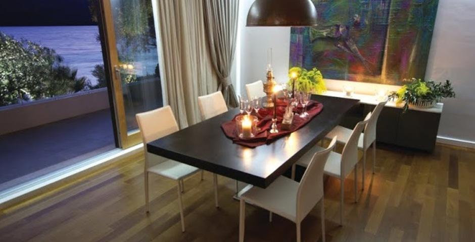 Show luxury villa trogir croatia dining room