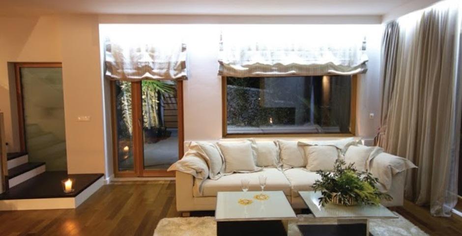 Show luxury villa trogir croatia  livingroom