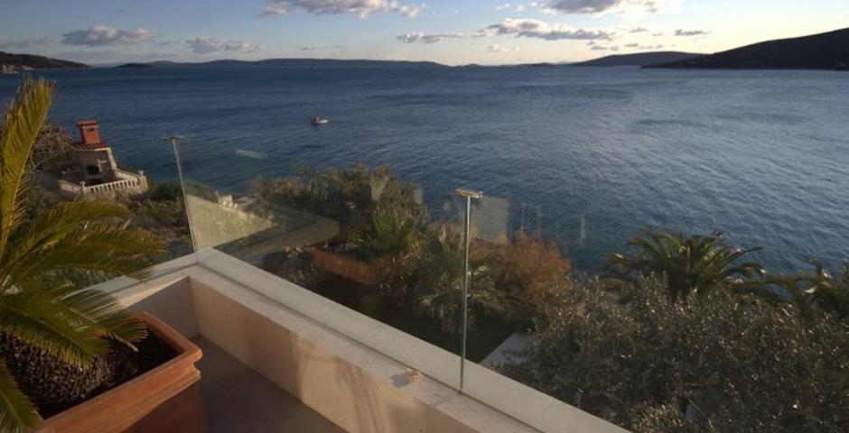 Show luxury villa trogir croatia seaview terrace