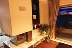 Thumb luxury villa trogir croatia living room with fireplace