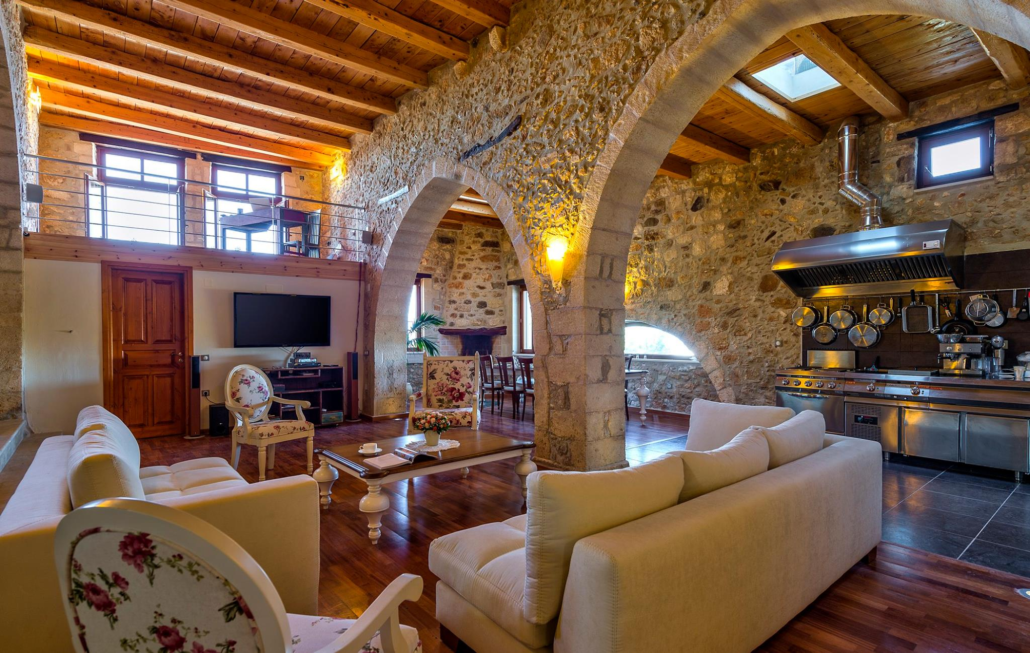 Traditional Luxury Kitchens Chic Stay Luxury Traditional Villa In Old Oil Mill Maroulas Greece