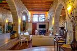 Thumb luxury traditional villa old mill mouranas crete greece living area