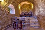 Thumb luxury traditional villa old mill mouranas crete greece wine cellar