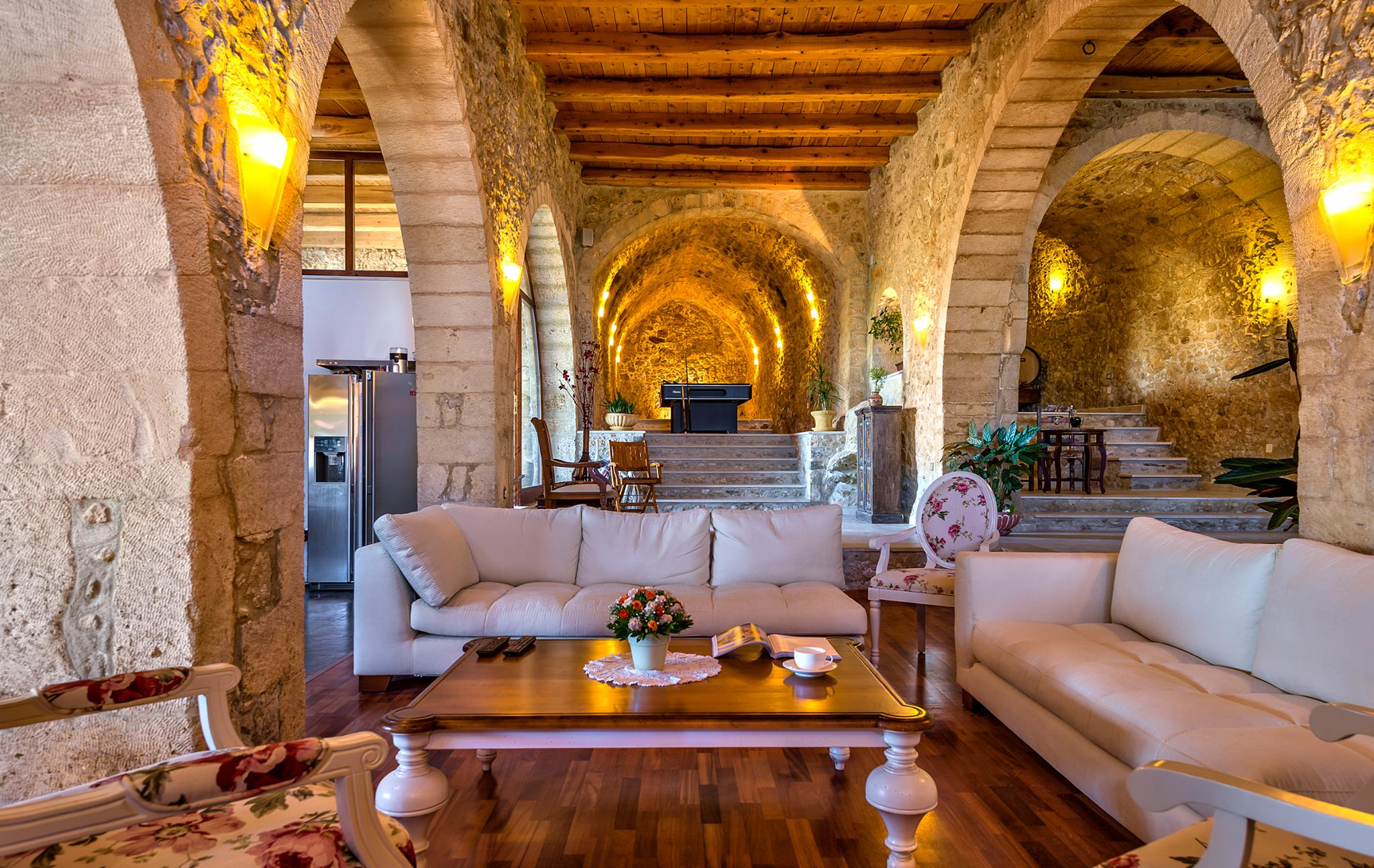 Chic stay luxury traditional villa in old oil mill for Traditional interiors