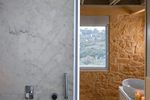 Thumb luxury stone villa akrotiri crete greece stone bathroom