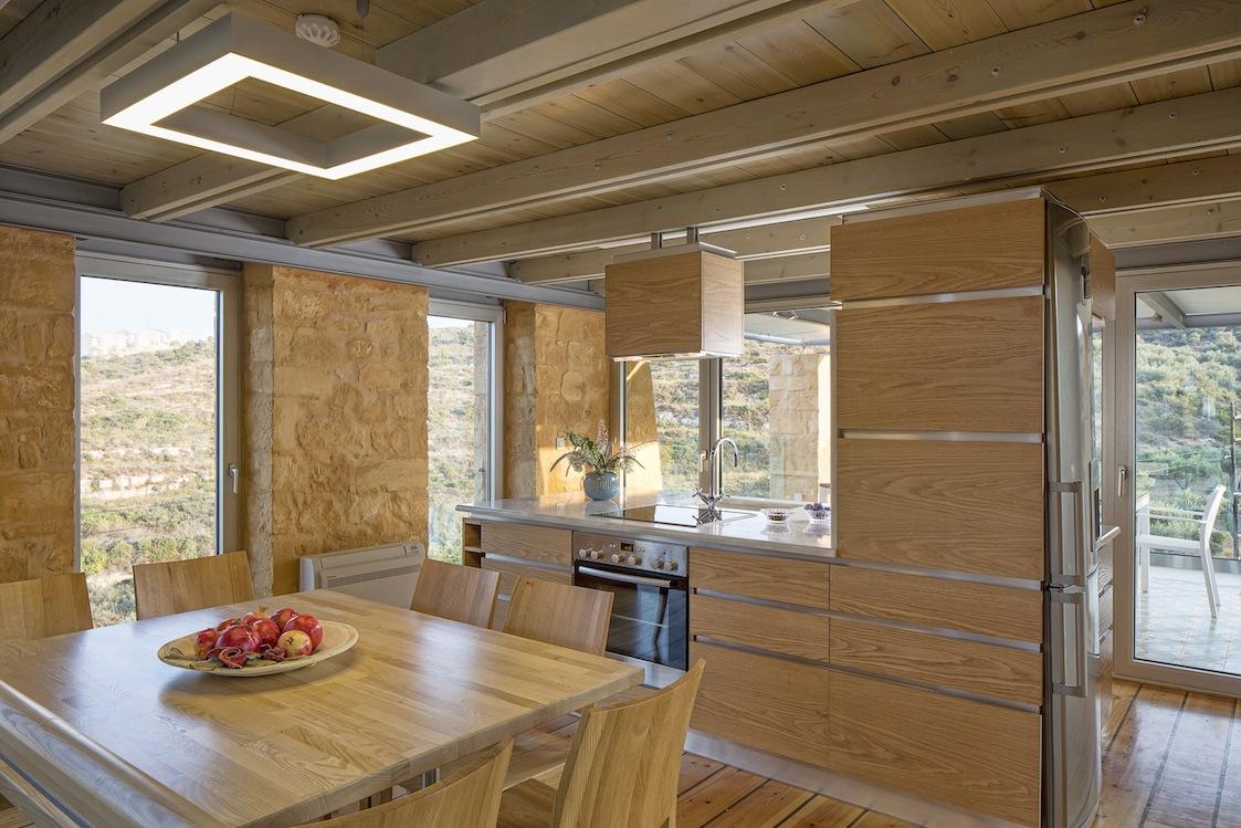 chic stay - luxury stone villa akrotiri kato marathi griechenland |, Schlafzimmer entwurf