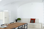 Thumb luxury villa santorini greece old factory loft style canava living dining area