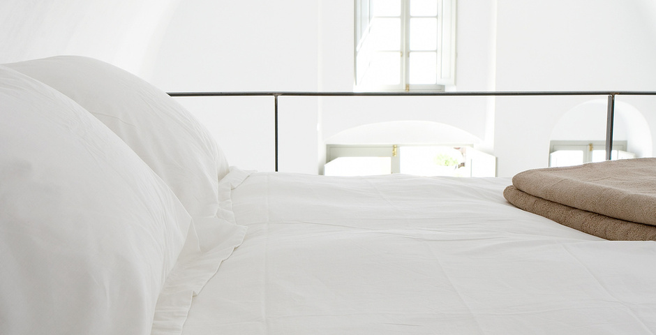 Show luxury villa santorini greece old factory loft style milos bedroom loft