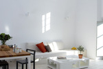 Thumb luxury villa santorini greece old factory loft style milos dining living area