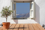 Thumb luxury villa santorini greece old factory loft style outside dining window view