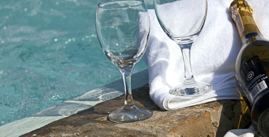 Show luxury seafront villa corfu piedra luxury living