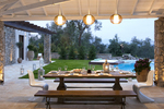 Thumb luxury seafront villa corfu piedra outdoor dining day