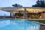 Thumb luxury seafront villa corfu piedra oudoor dining area swimmingpool