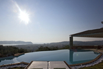 Thumb luxury seafront villa corfu piedra swimmingpool sunbeds seaview